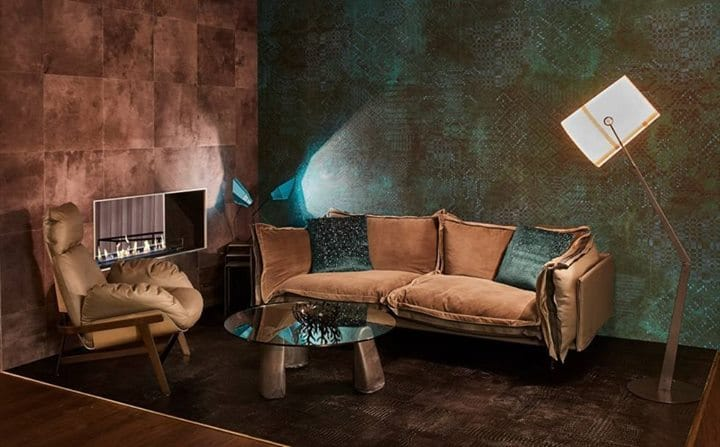 Arketipo Auto Reverse Sofa And Armchair Showing Jupiter