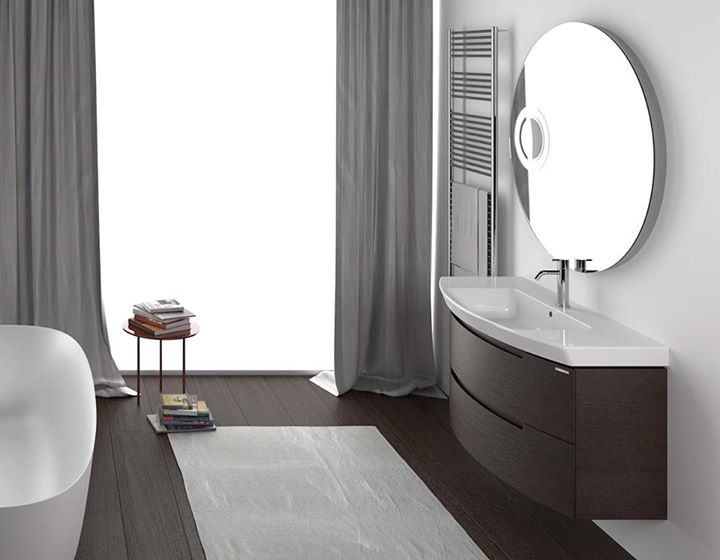 Berloni Bagno The Elegance Of Moon Is Expressed In Minimal Design