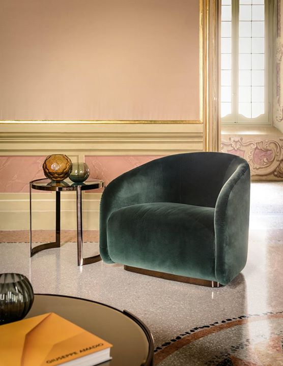 Luxury Living Fanny Armchair By Fendi Casa A Natural Charm