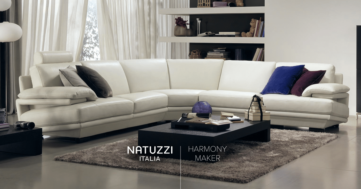 Natuzzi Plaza Sofa Png Contemporary Designers Furniture