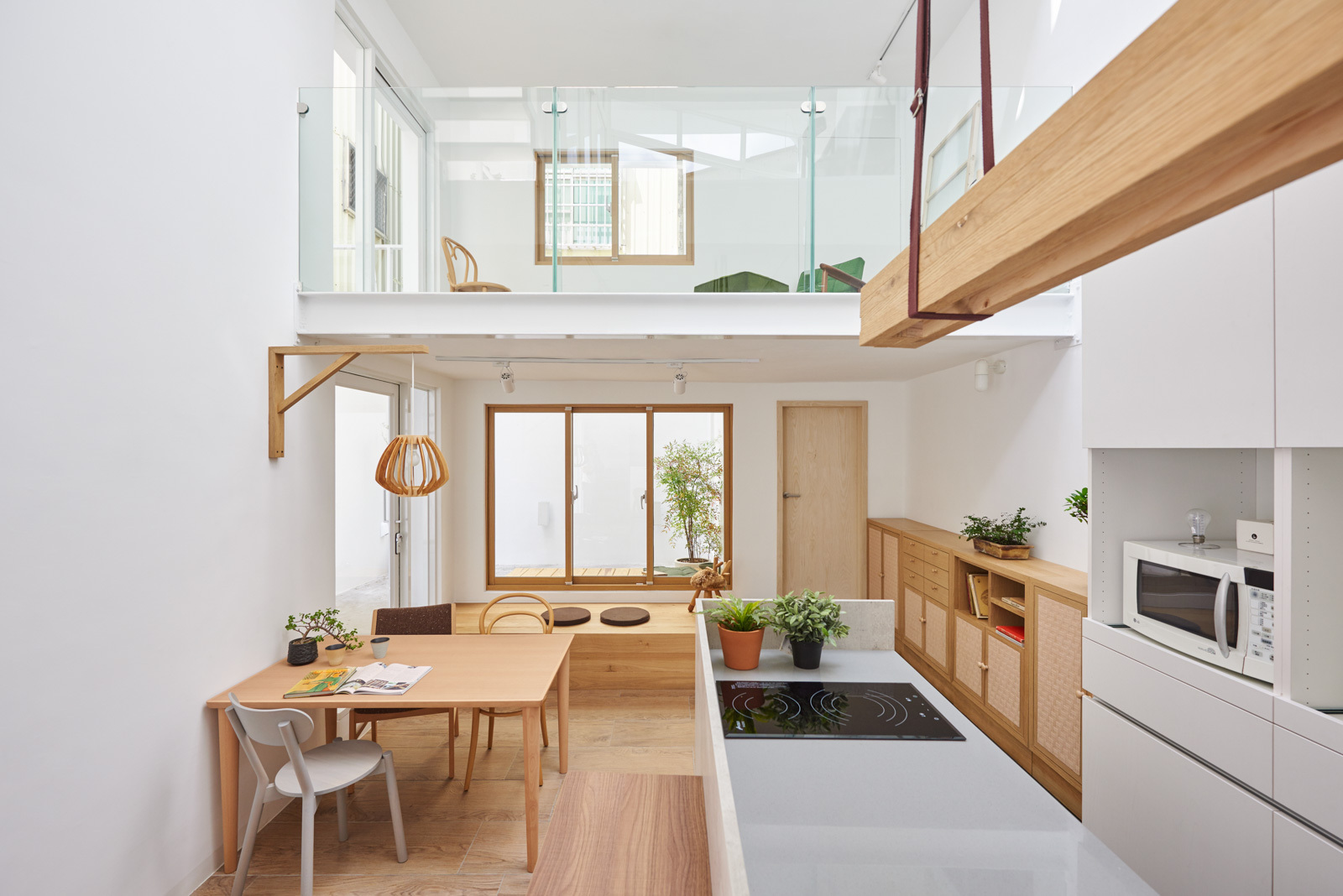 archdaily house h hao design