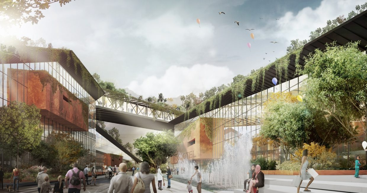 archdaily third place proposal for turkey 39 s bandirma park embeds public spaces in an urban