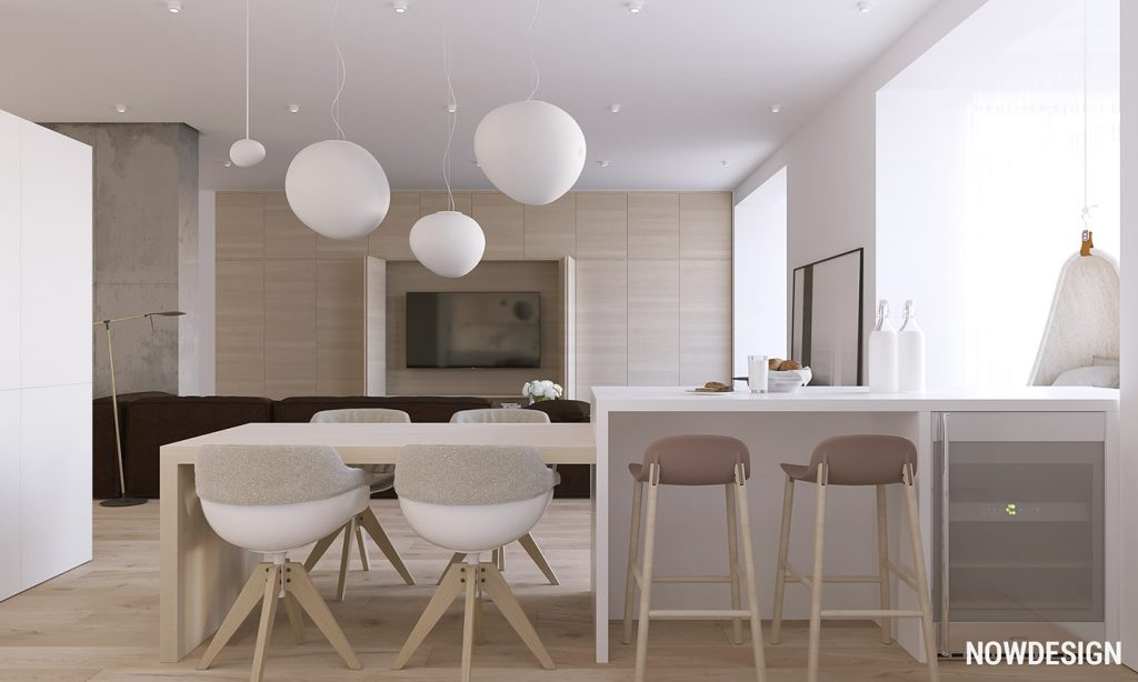 Home designing 3 modern minimalist apartments for young families contemporary designers furniture da vinci lifestyle