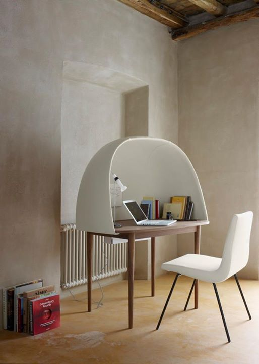 LIGNE ROSET: Rewrite by GamFratesiThis cocoon-like desk is both beautiful and functional. I …