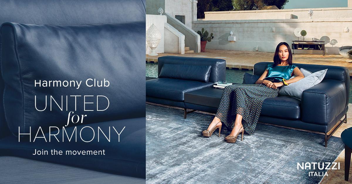 Natuzzi Join The Harmony Club Contemporary Designers