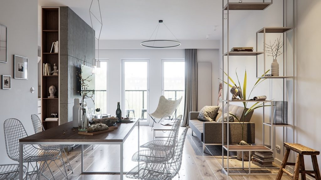 Home designing a pair of stylish apartments that put their extra rooms to good use contemporary designers furniture da vinci lifestyle