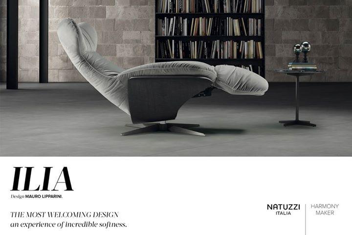 Natuzzi Designed By Mauro Lipparini Ilia Armchair