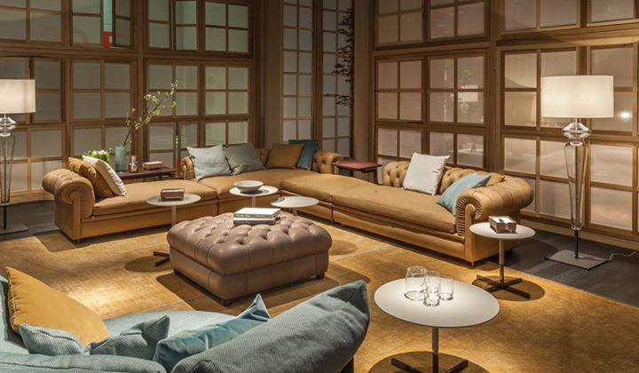 Poltrona frau the redefinition of chester at salone del for Poltrone frau milano
