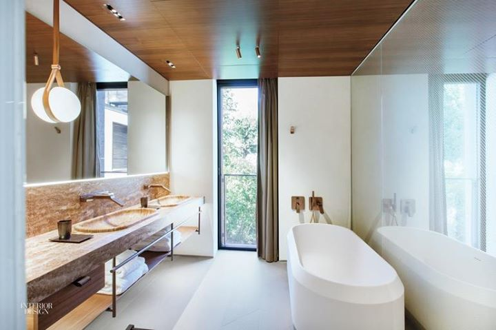 AGAPE: The Lariana bathtub by Patricia Urquiola @ The Serene Hotel on Interior Design Ma …