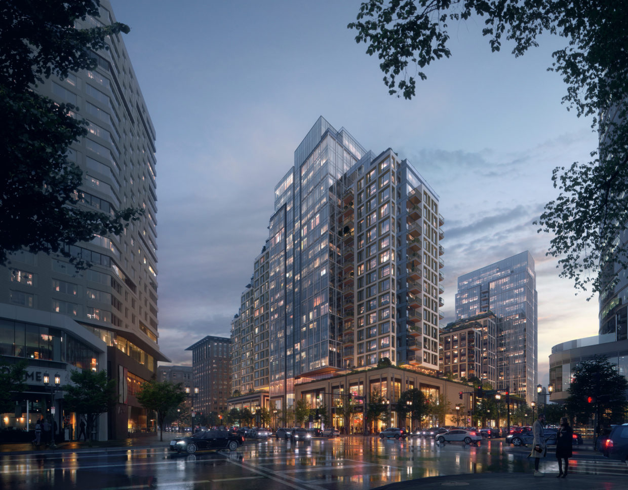 ARCHDAILY: KPF Advances Growth of Boston Seaport with Towered Mixed-Use Building
