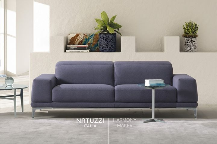 NATUZZI: Reach the ultimate comfort with Borghese, sofa characterized by a stylish and el…