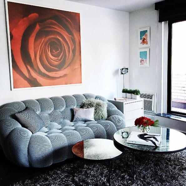 ROCHE BOBOIS: Bubble sofa (@sachalakic) After a tiring week! (@sachalakic) We can not think of anything better than kicking back on the comfy Bubble sofa (@s …