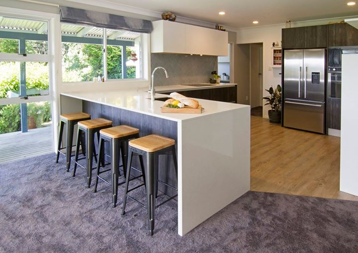 BERLONI: Situated in the Rotorua Ngongotaha valley, this kitchen was designed to …