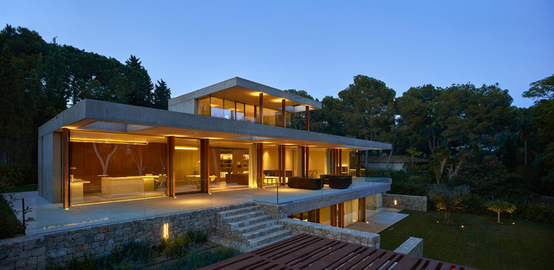 CONTEMPORIST: Home In The Pine Forest By Ramon Esteve