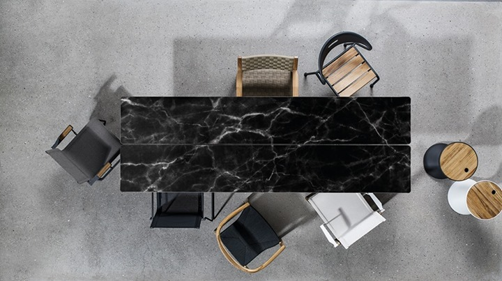GLOSTER Black or white Which color do you prefer for  : gloster black or white which color do you prefer for your dining tableour split co from www.davincilifestyle.com size 720 x 403 jpeg 89kB