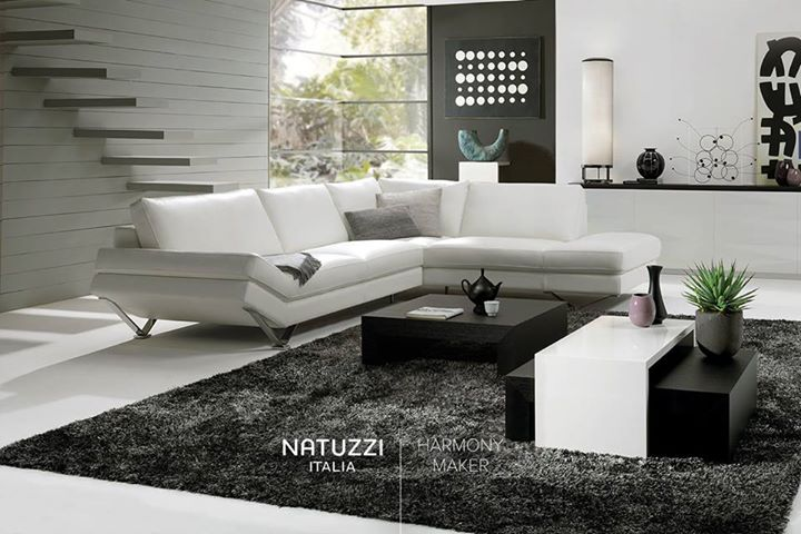 NATUZZI: Essential and elegant design: Relevé is an unconventional sofa with precious det…
