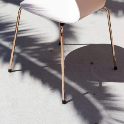 Sun's out! And so is the 22 karat rose gold coated Series 7 ™. #FritzHansen #Arne ...