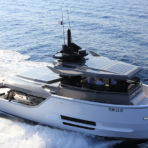 DESIGNBOOM: arcadia yachts sherpa is an award winning solar-powered boat