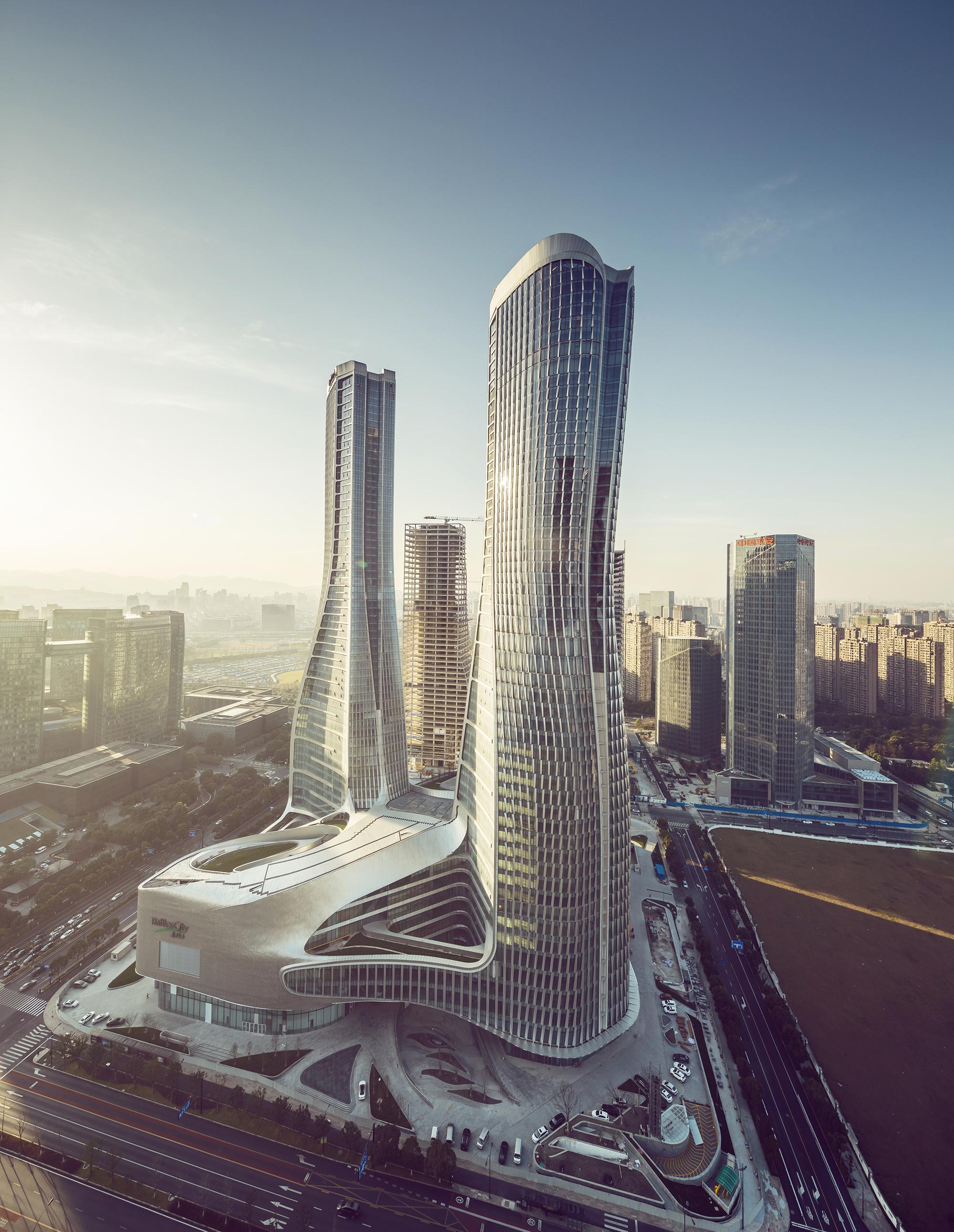 Archdaily Raffles City Hangzhou Unstudio Contemporary