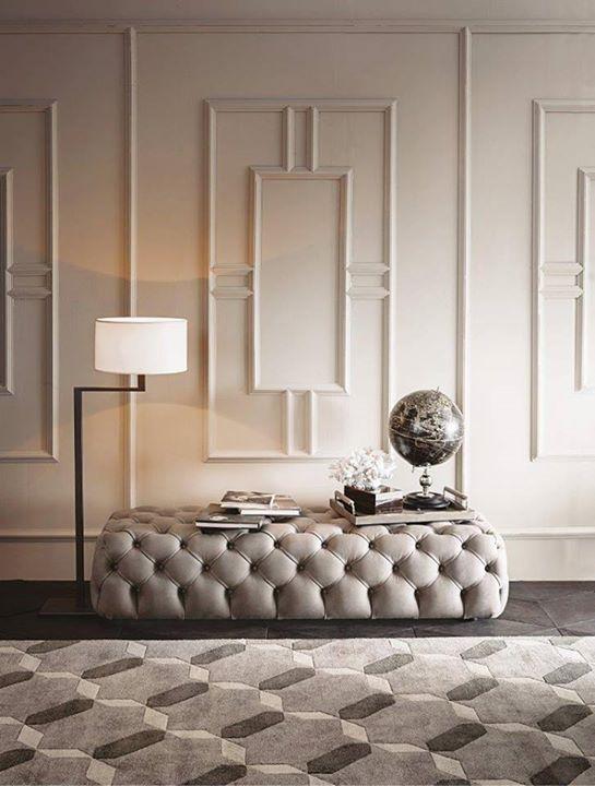 Casamilano Hyatt Tufted Ottoman Design Castle Lagravinese Studio Jackie Floor Lamp Design