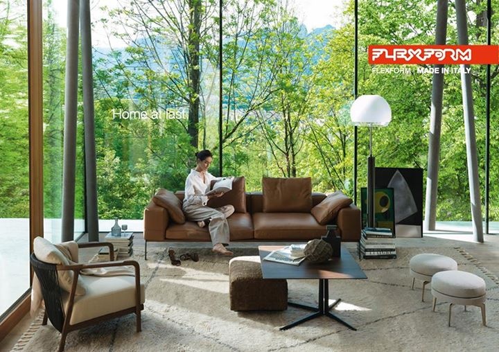 Flexform Home At Last Living The Home With Lifesteel A