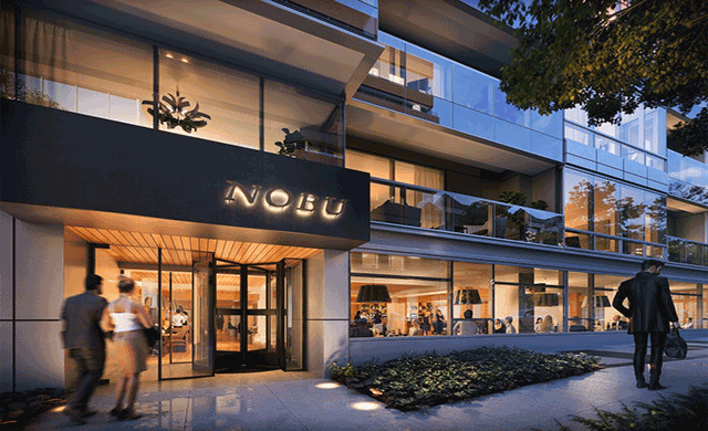 Hospitalitydesign nobu washington dc set for debut for Hotel design washington dc