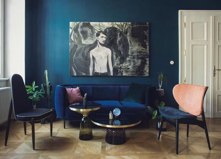 Sofa Petrol. Excellent Places Of Style Mit Federkern Und With Sofa ...