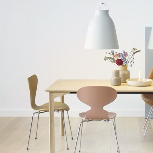 FRITZ HANSEN Dining room mixing amp matching with the newly  : 2191118120098771926301662152714273921433600n from www.davincilifestyle.com size 612 x 612 jpeg 38kB