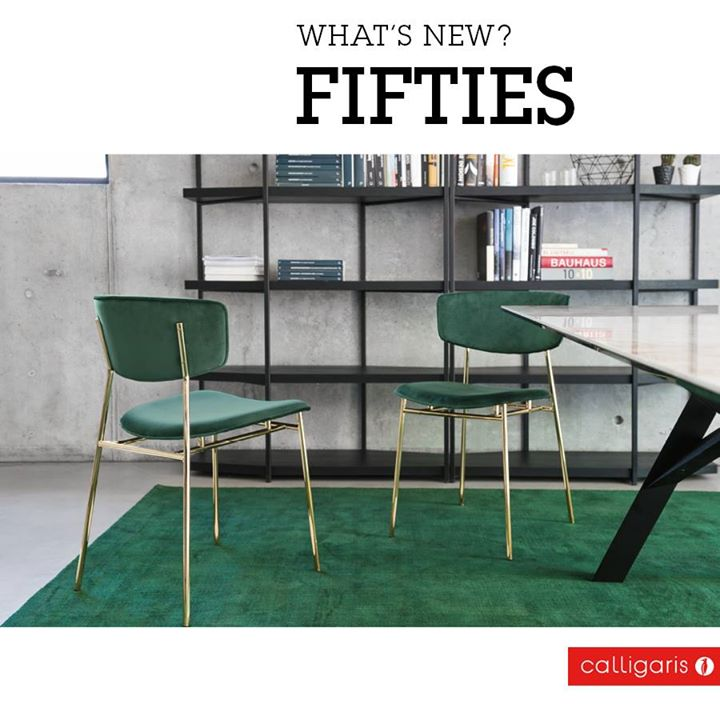 Calligaris Brilliant Velvet And Polished Brass Metal And