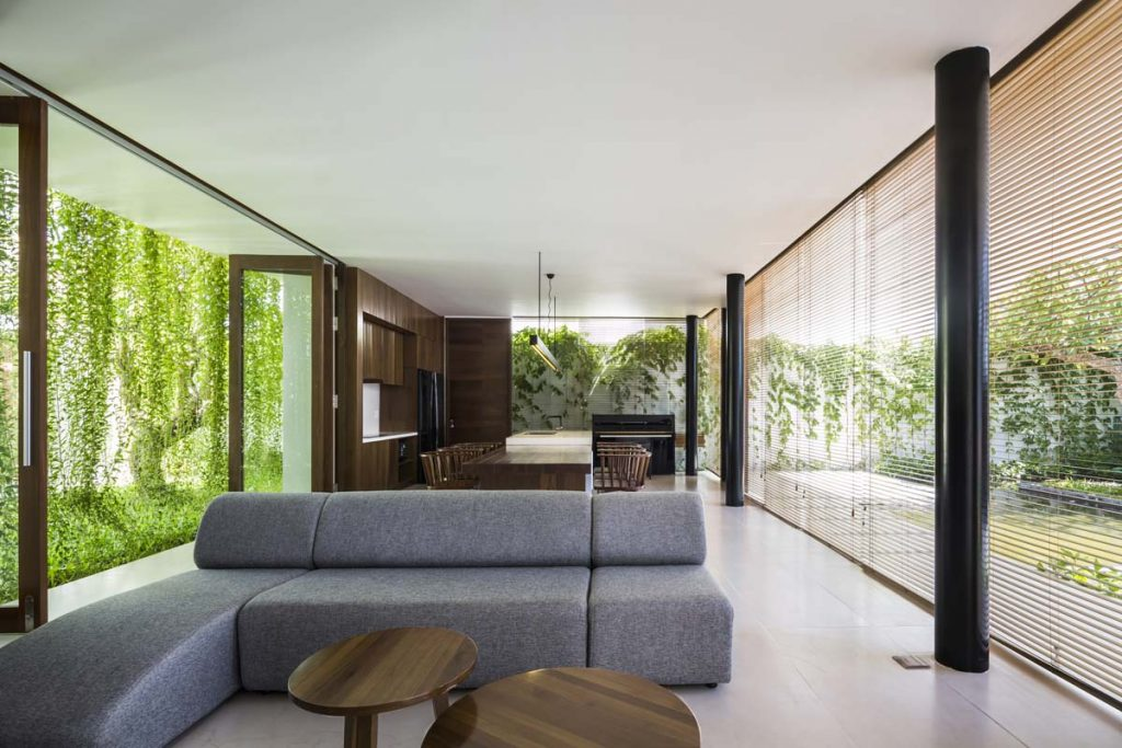 home designing open nature 39 s window with this greenery surrounded vietnamese home