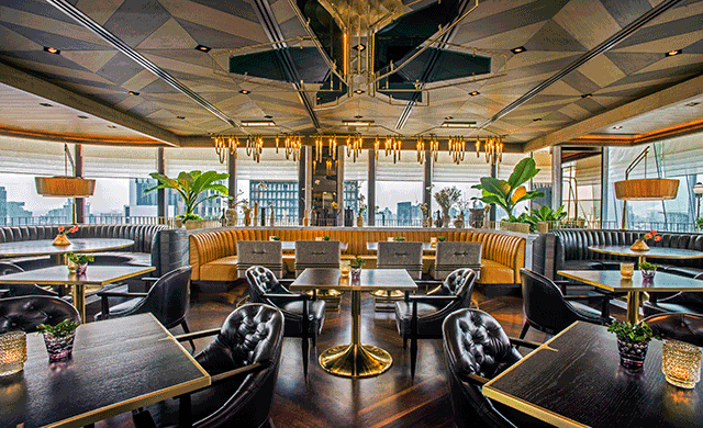 Hospitalitydesign penthouse bar grill hospitality