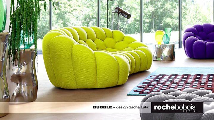 ROCHE BOBOIS: The Curved Shape Of The Bubble Sofa, Designed By Sacha Lakic,  Is Made For Snuggli ...   Contemporary Designers Furniture   Da Vinci  Lifestyle