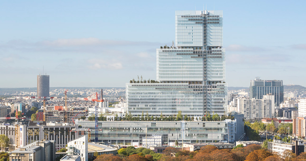 DESIGNBOOM: first images of renzo piano's paris courthouse