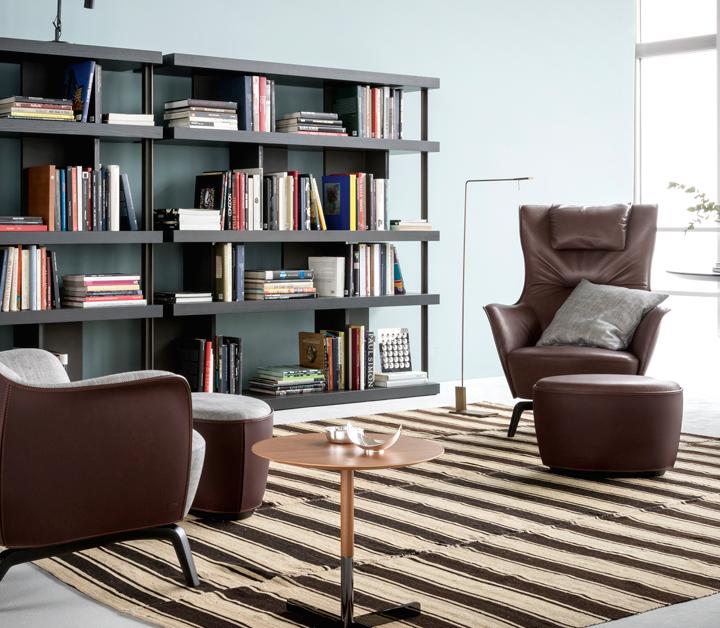 POLTRONA FRAU  Mamy Blue - Contemporary Designers Furniture – Da ... 0c6af950158