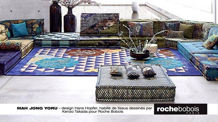 roche bobois kenzo takada 39 s new collection for roche. Black Bedroom Furniture Sets. Home Design Ideas