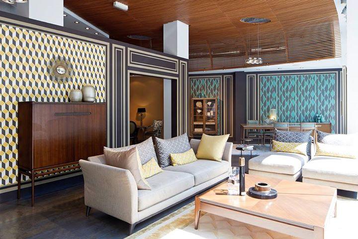 roche bobois the historic rue de lyon showroom in paris presents the new classics coll. Black Bedroom Furniture Sets. Home Design Ideas