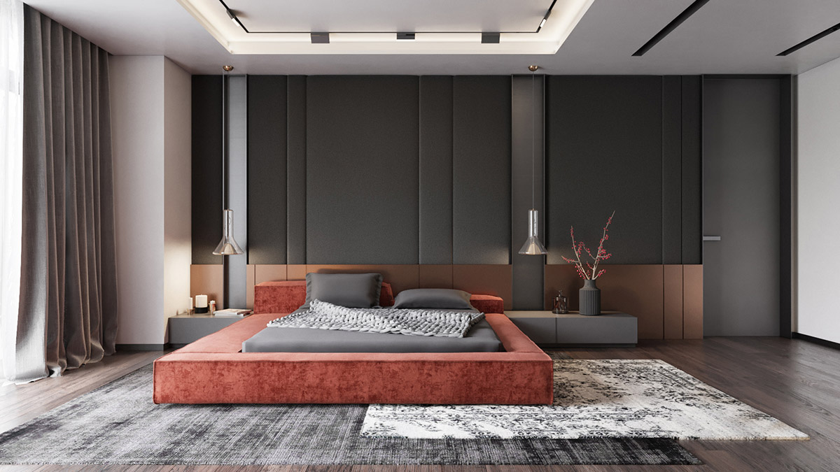 HOME DESIGNING Modern Bedrooms With Tips To Help You Design - Floor to ceiling bedroom furniture