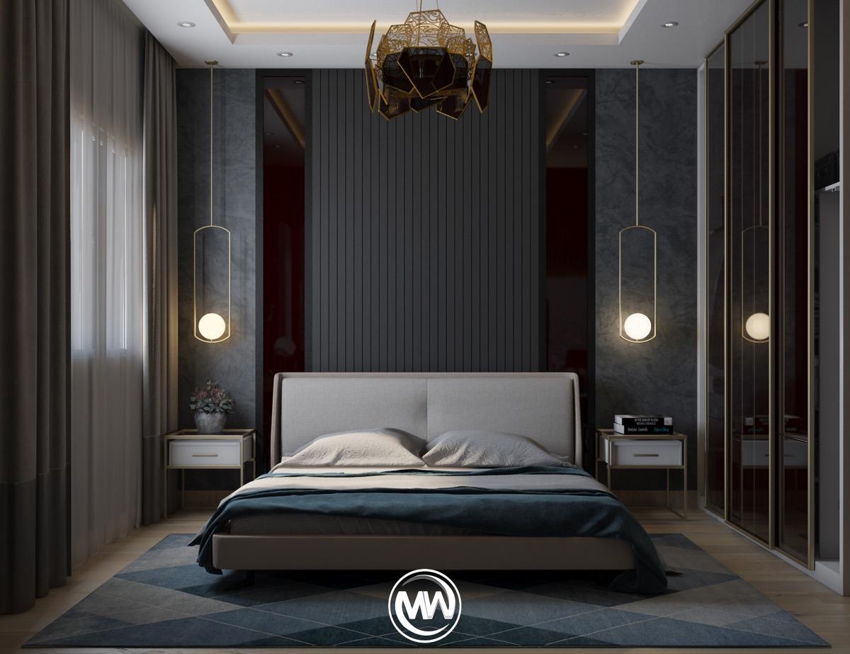 Luxury Bedroom Wall Design