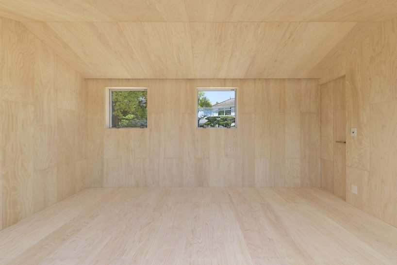 kengo kuma wins japan good design award 2018 with extendible small cypress hut