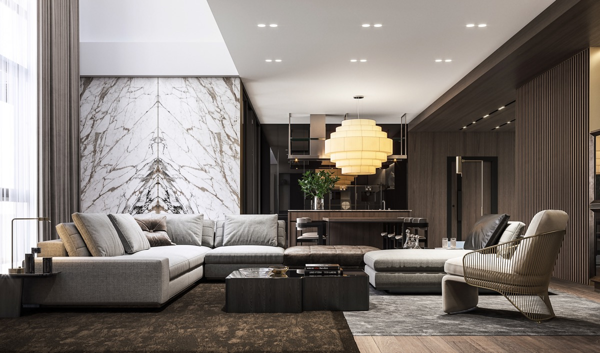 HOME DESIGNING: 51 Luxury Living Rooms And Tips You Could Use From Them