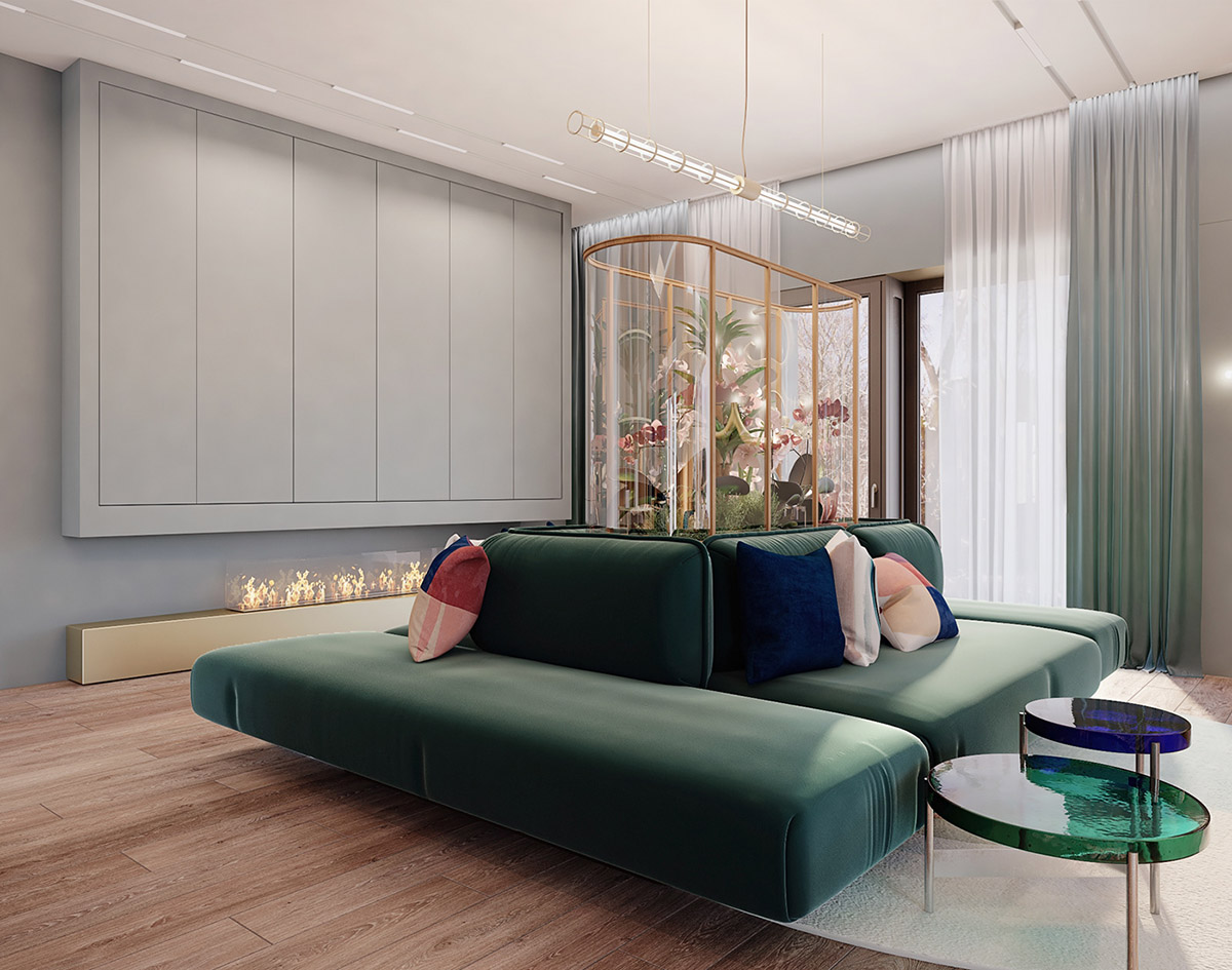 Home Designing Sophisticated Small Scale Luxury With Beautiful