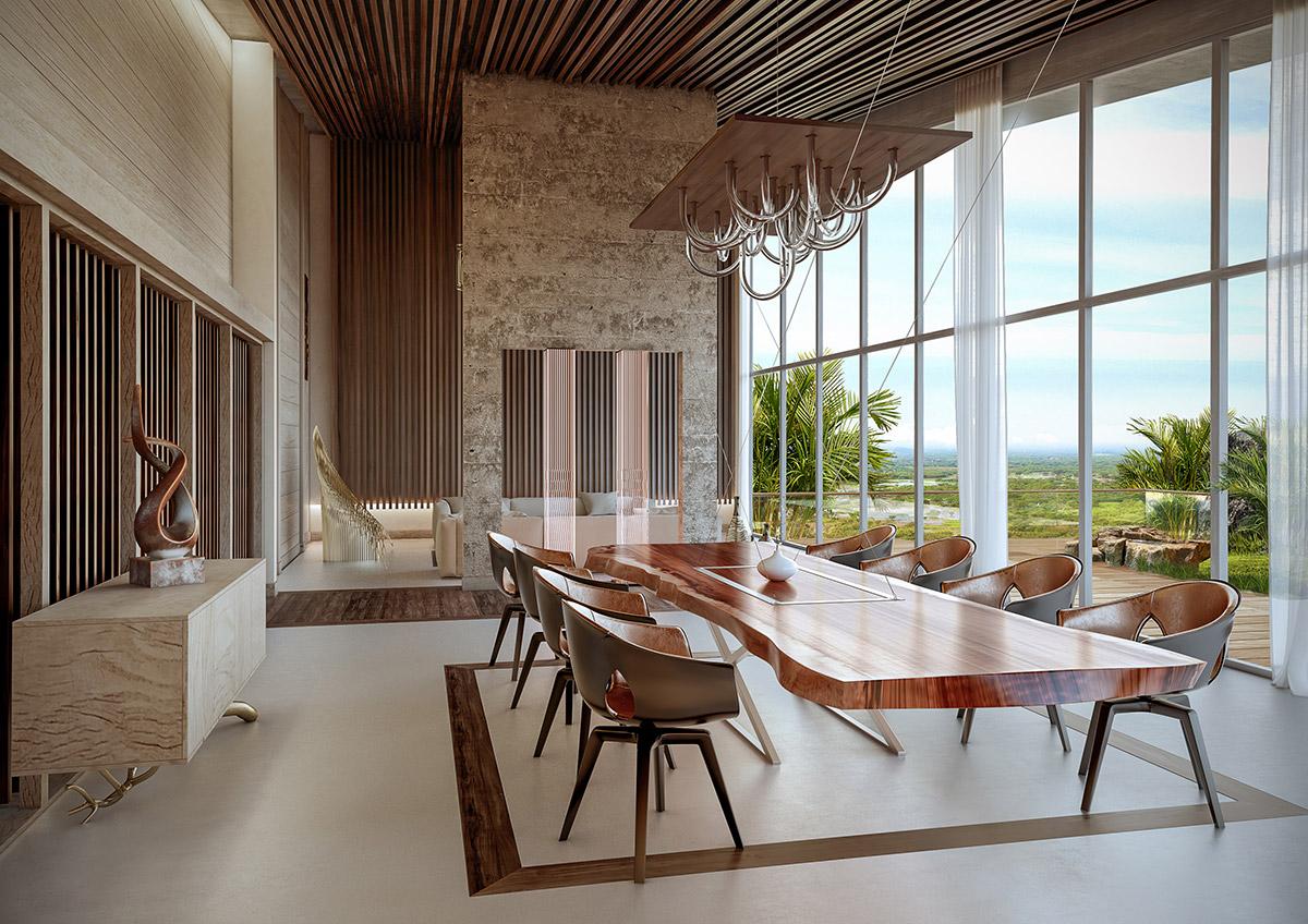 HOME DESIGNING: 51 Luscious Luxury Dining Rooms Plus Tips ...