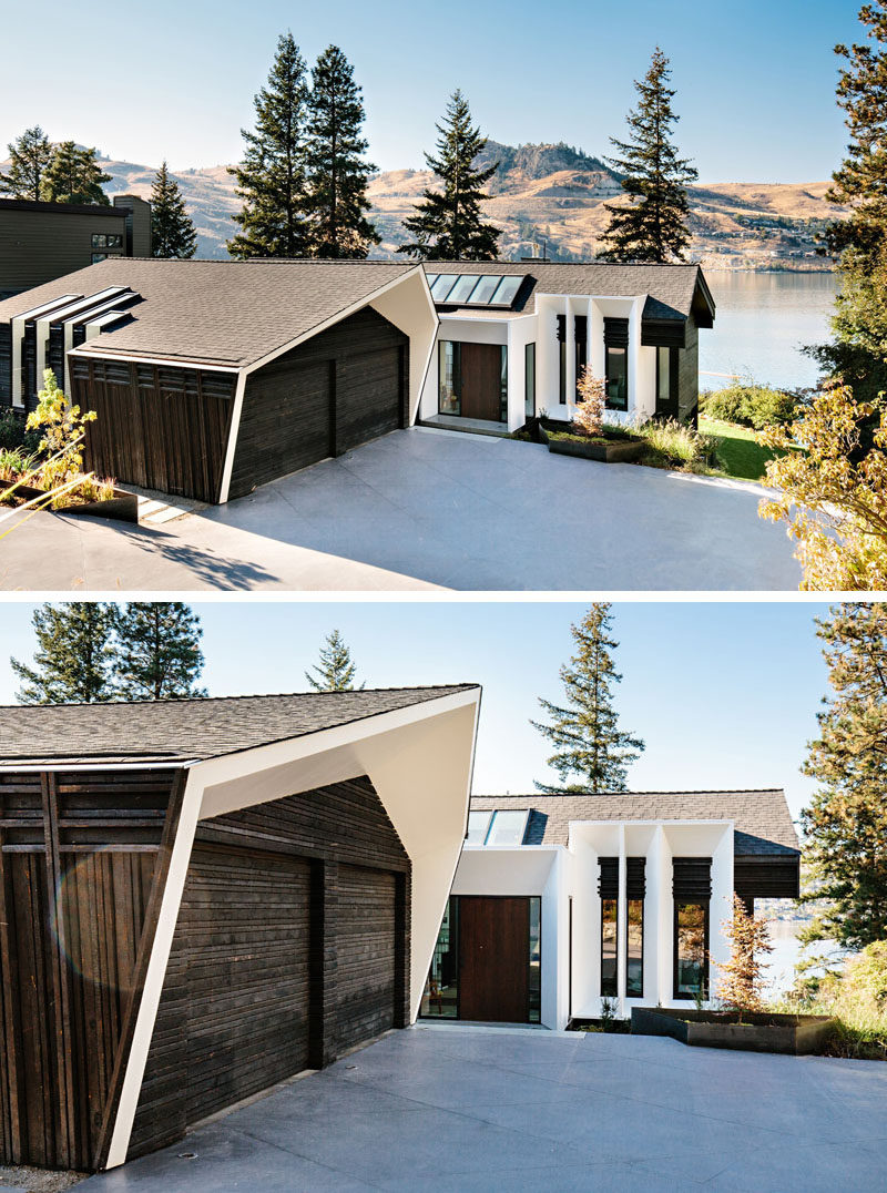 BLDG Workshop have recently completed the modern renovation of a house located in British Columbia's Okanagan Valley, that overlooks the Kalamalka Lake. #LakeHouse #Architecture #ModernInteriorDesign