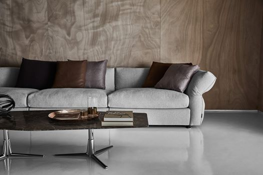 Carlo Colombo Design.Flexform 2018 Collection Focus On Sveva Coffee And Side
