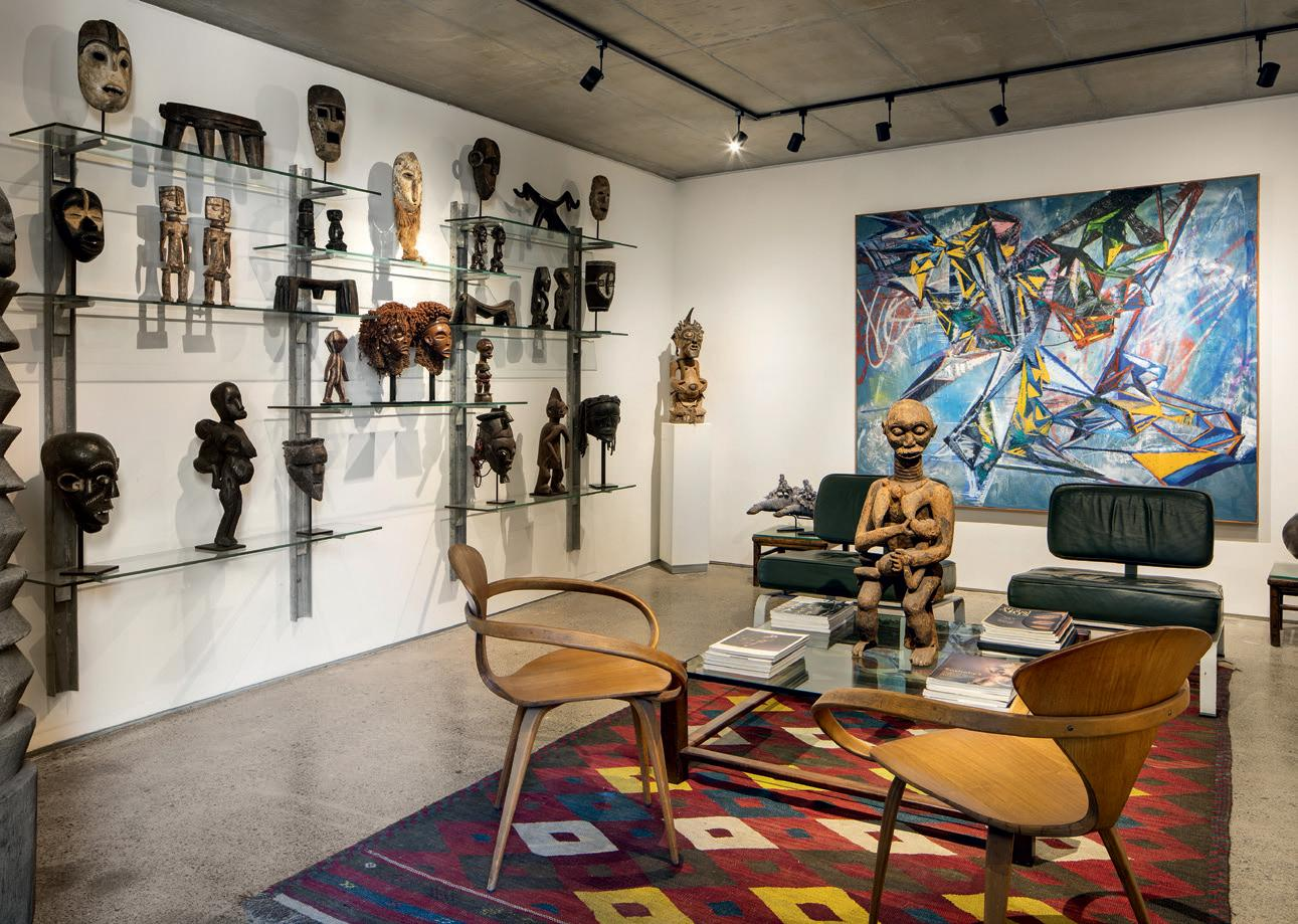 MIchael Fitzgerald's South African art collection