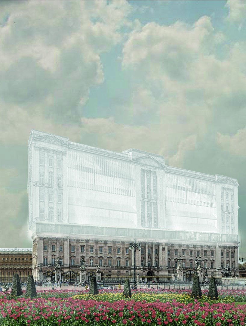 opposite office proposes to transform london's buckingham palace into affordable housing
