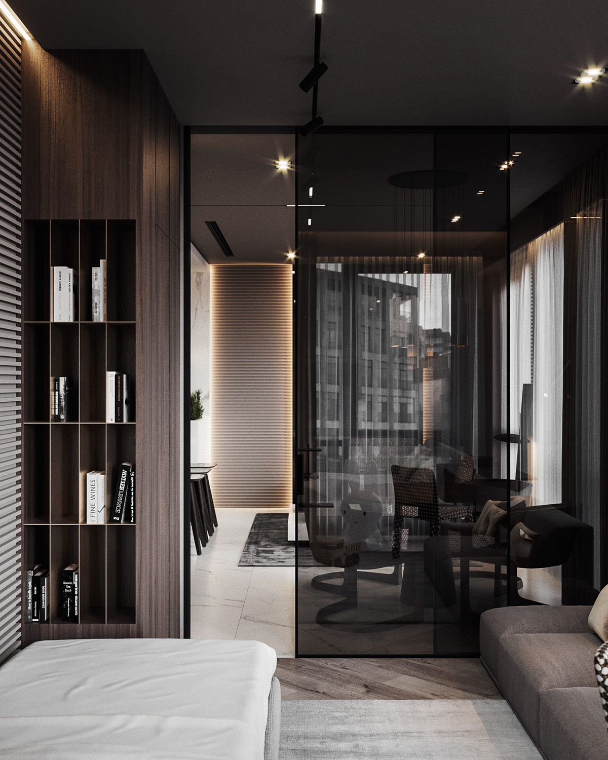 HOME DESIGNING: Small-scale Meets Upscale In Two Compact