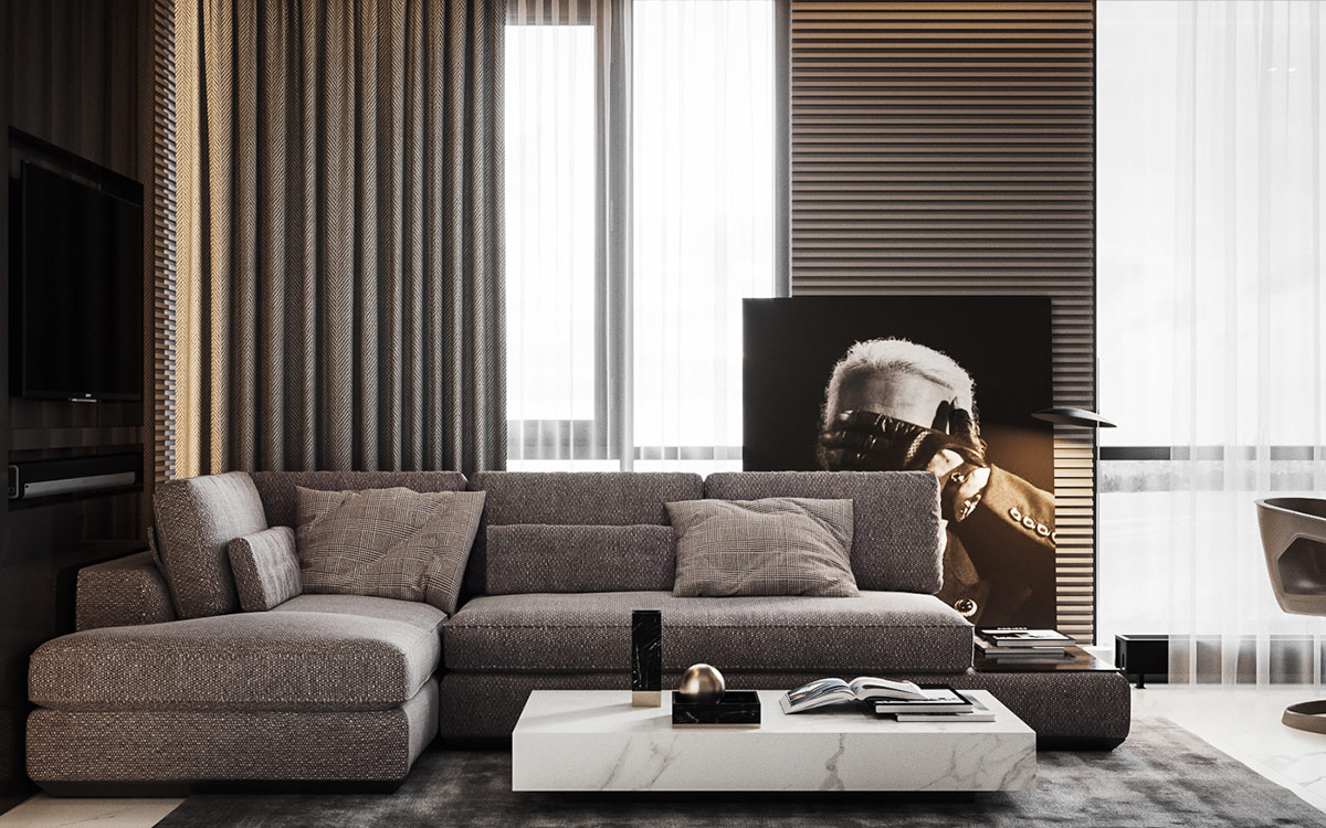Home Designing Small Scale Meets Upscale In Two Compact Family