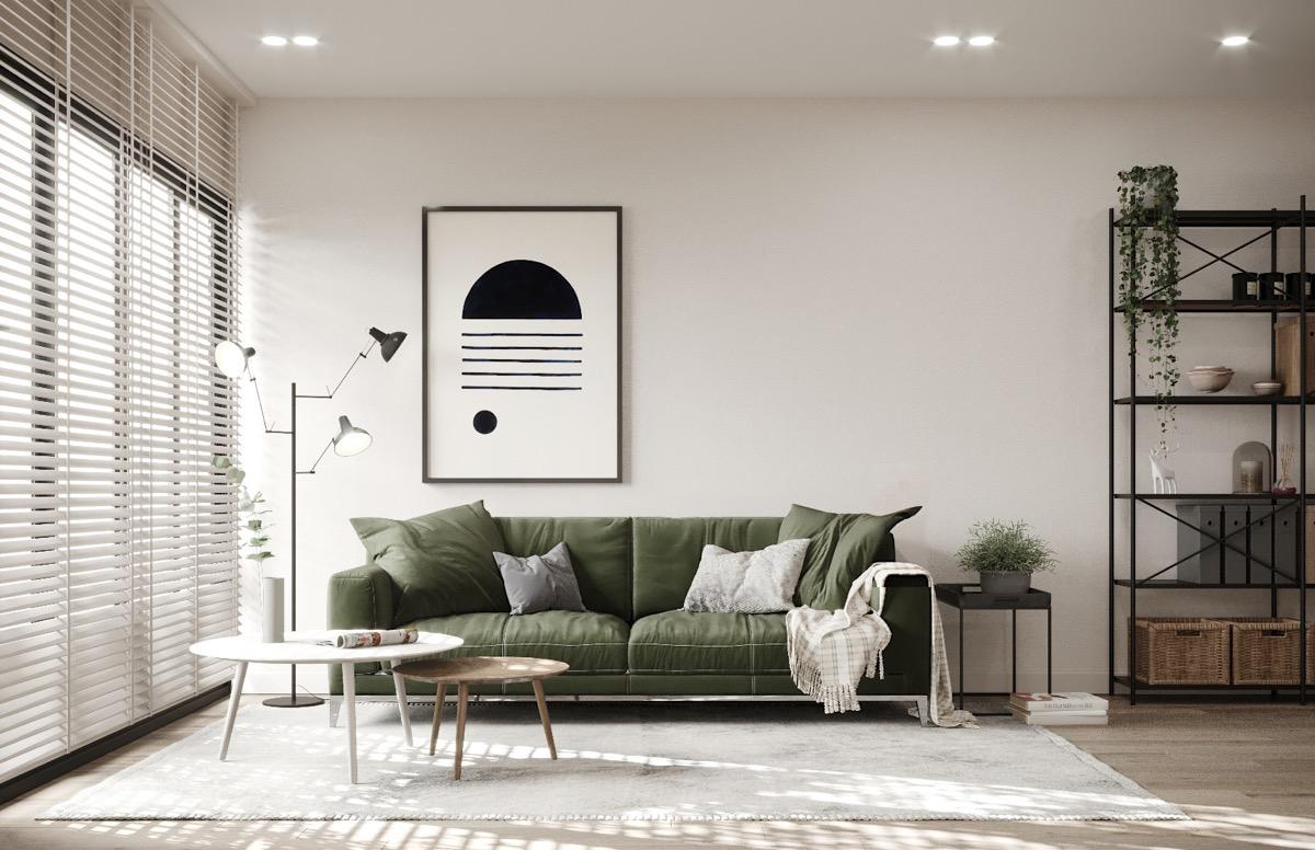 HOME DESIGNING: Scandinavian Style Interiors In Green ...
