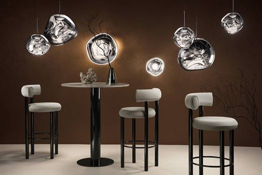 Prime Tom Dixon Fat Bar Stool With Melt Lights And Tube Gmtry Best Dining Table And Chair Ideas Images Gmtryco